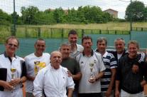 Pobedničko postolje letnje lige 2012