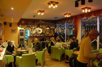 Zatvoreni restoran tokom novogišnjeg klupskog prvenstva