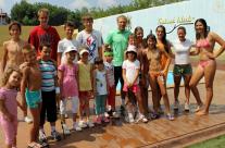 Društvo teniske škole u društvu velikog ljubitelja tenisa Milana Kalinića